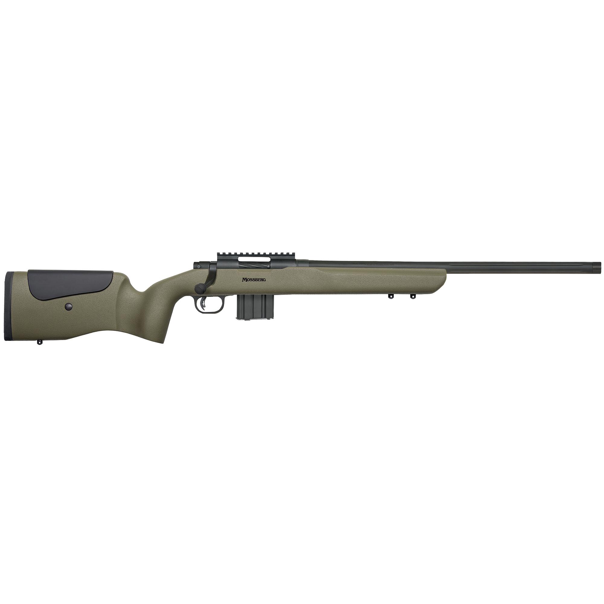 Mossberg MVP LR Centerfire Rifle, 6.5mm Creedmoor, OD Green