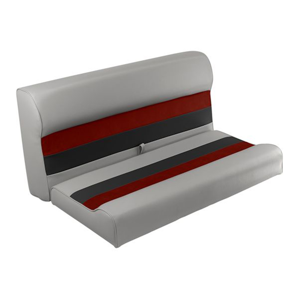 """Toonmate Deluxe 36"""" Lounge Seat - TOP ONLY - Gray/Red/Charcoal"""