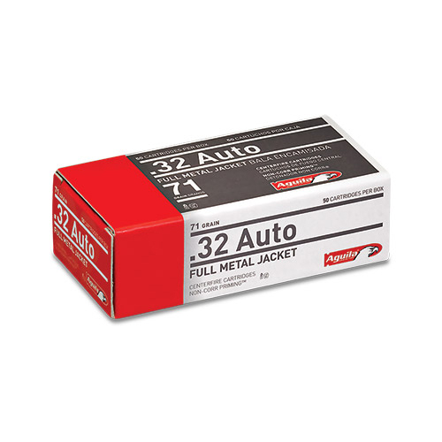 Aguila Centerfire Pistol Ammo, .25 ACP FMJ, 50-gr, 50-Rounds thumbnail