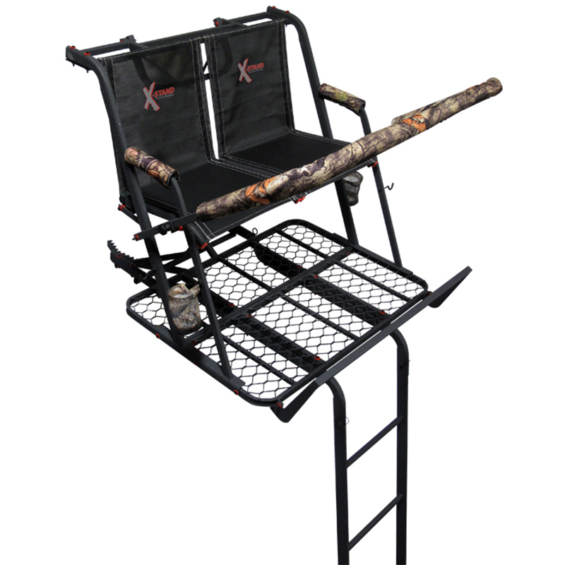 X-Stand Jayhawk 20′ Two-Person Ladder Stand