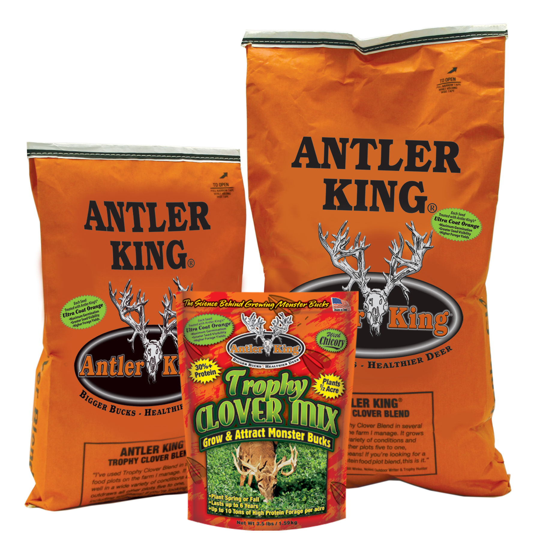 Antler King Trophy Clover Mix, 3.5 lbs. – Covers 1/2 Acre