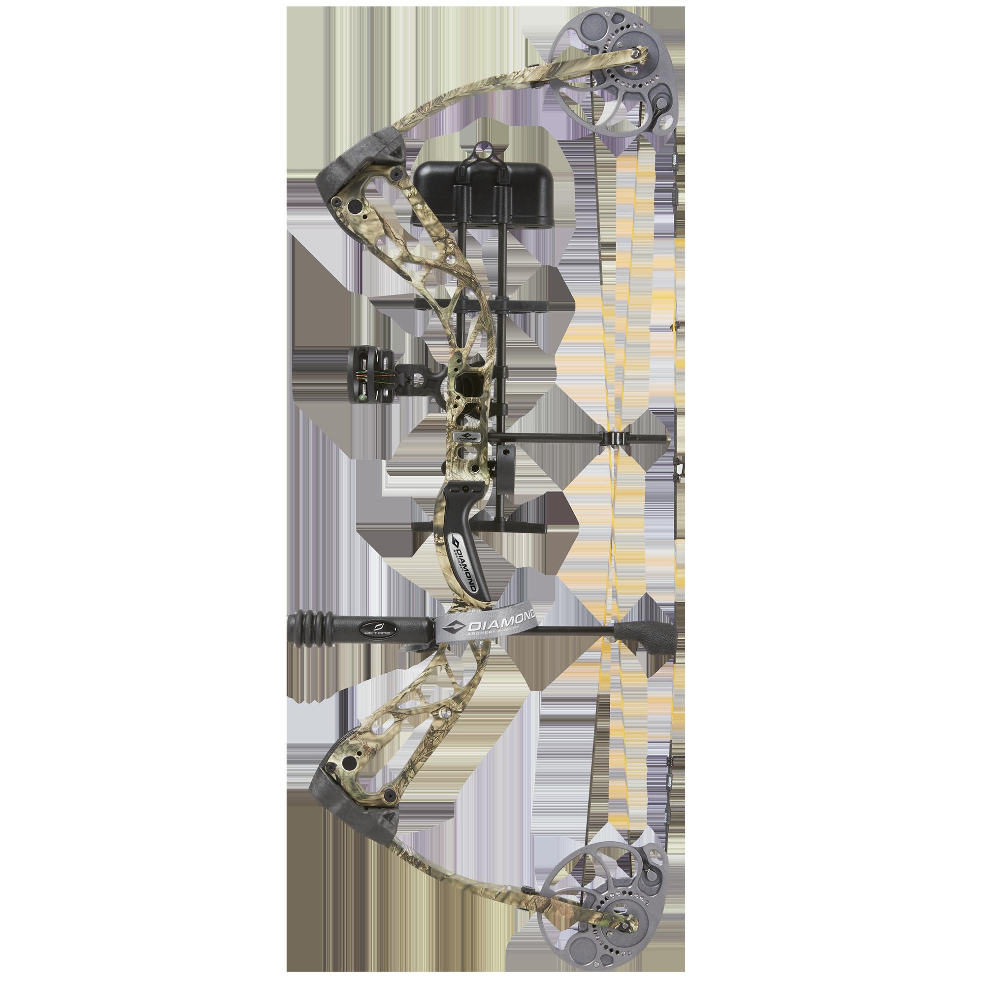 Diamond Archery by BowTech Edge SB-1 Compound Bow Package, RH, Camo