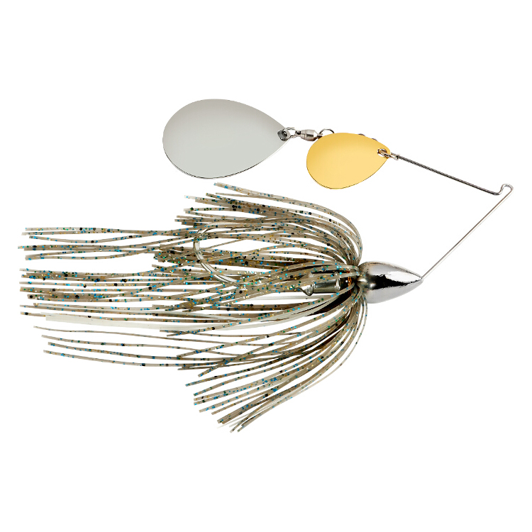 War Eagle Nickel Frame Tandem Colorado Spinnerbait