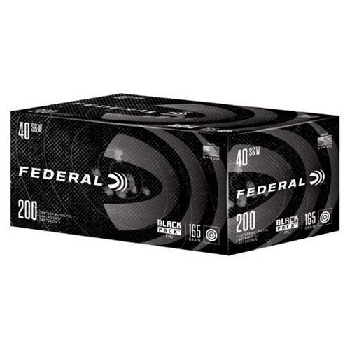 Federal Black Pack Ammo, .40 S & W Auto