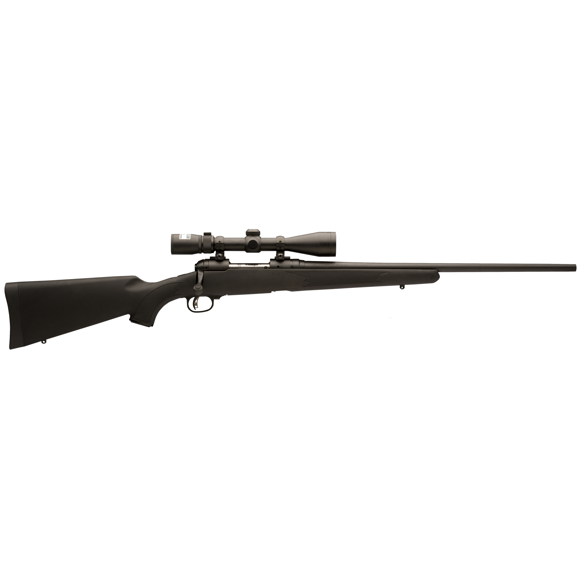 Savage Model 111 Trophy Hunter XP Centerfire Rifle Package, .338 Win. Mag, Black