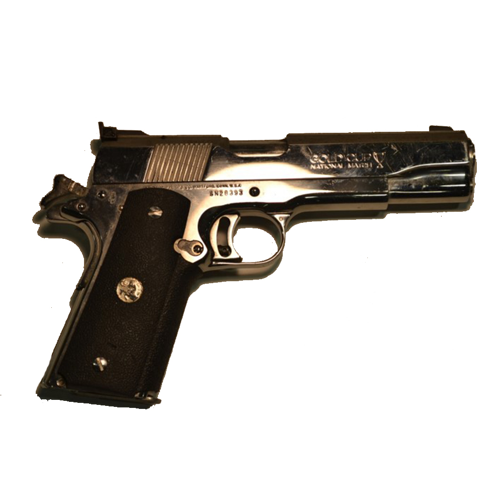 Used Colt Series 80 Gold Cup Handgun, .45 ACP