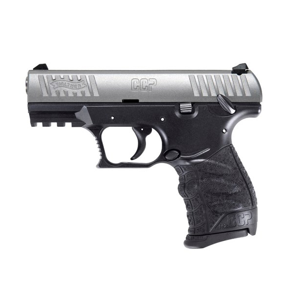 Walther CCP M2 9mm Luger Handgun, Stainless Steel