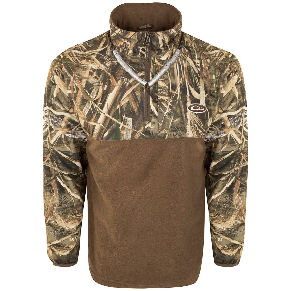 Drake Men's Guardian Flex Eqwader Waterproof 1/ 4 Zip Hunting Jacket