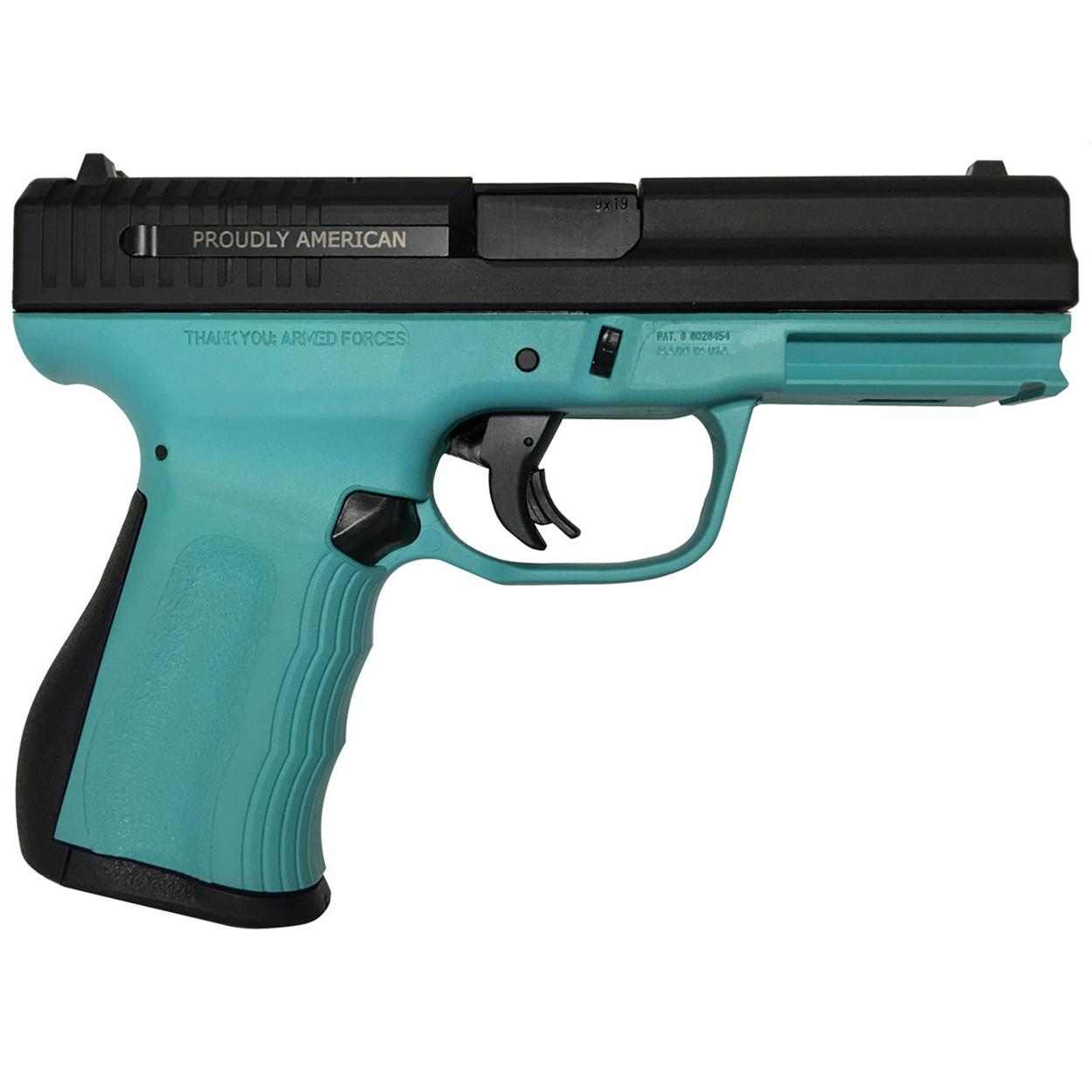 FMK Firearms 9C1 G2 Compact Handgun, 9MM Luger, Blue Jay