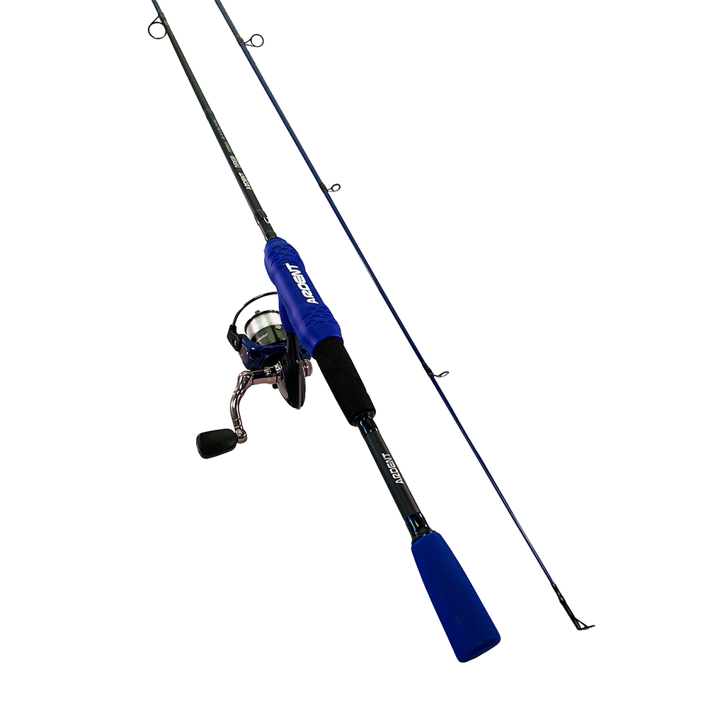 Ardent Comfort-Grip Vario Rod and Reel Fishing Combo, Blue
