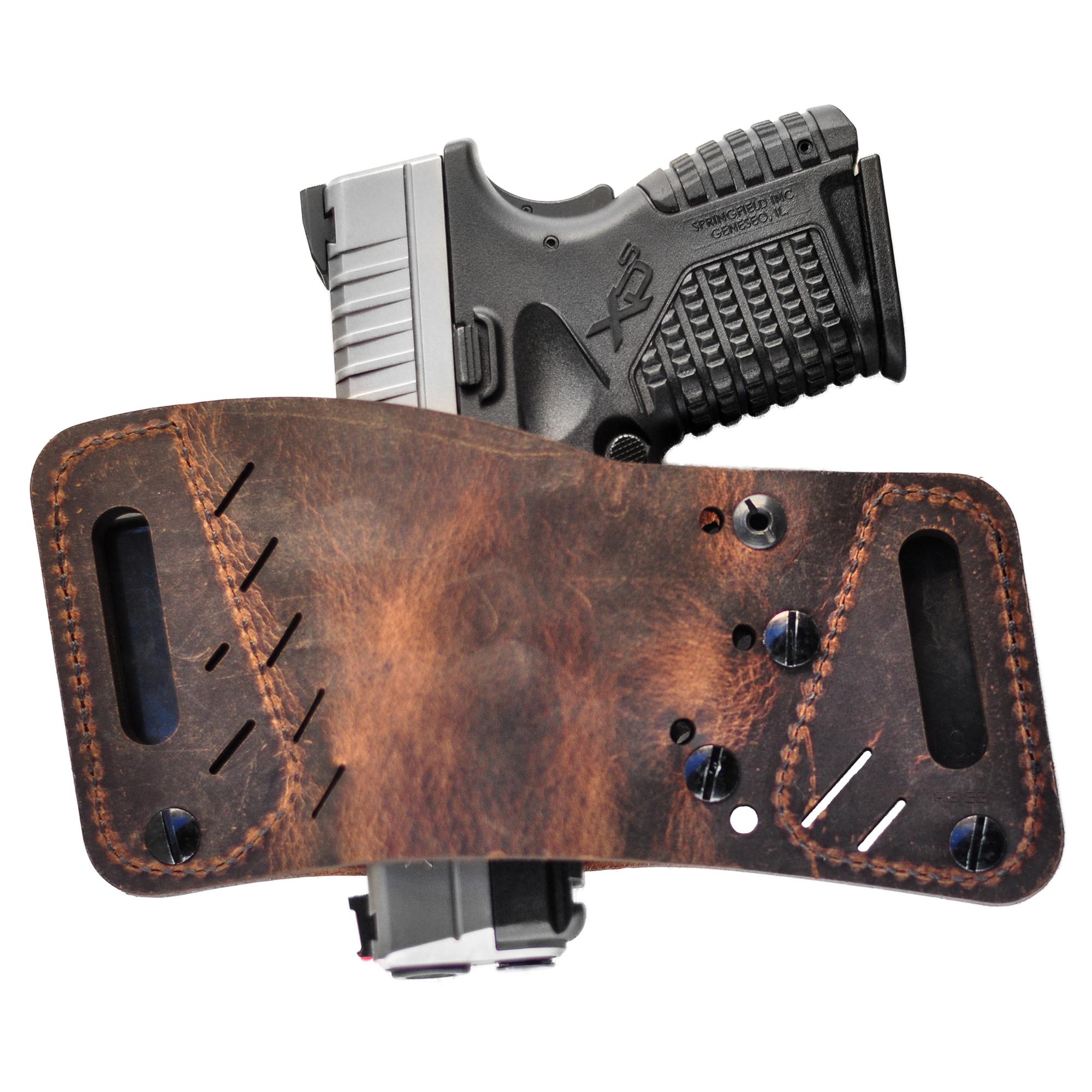 Versacarry Rapid Slide S3 Universal Holster, Distressed Brown