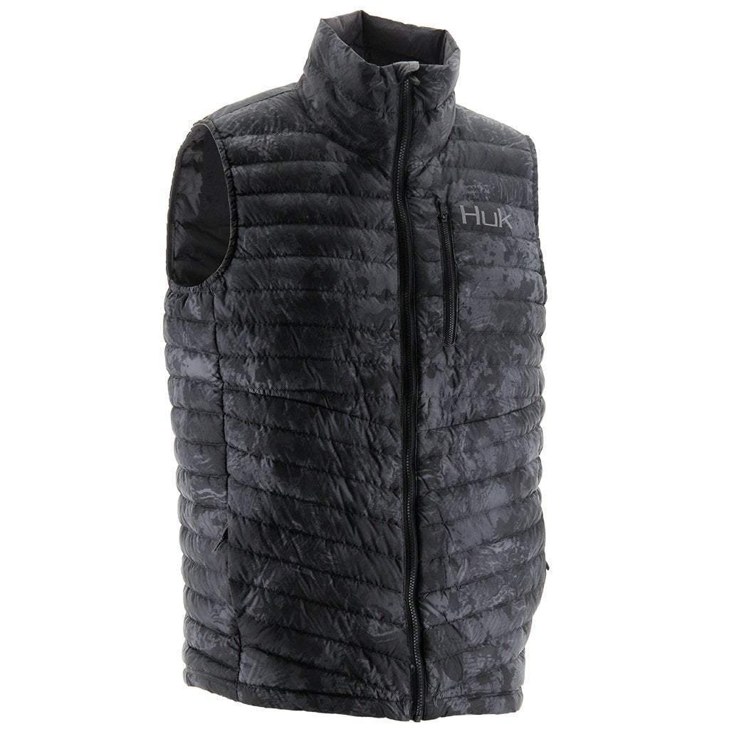 HUK Men's Double Down Camo Vest thumbnail