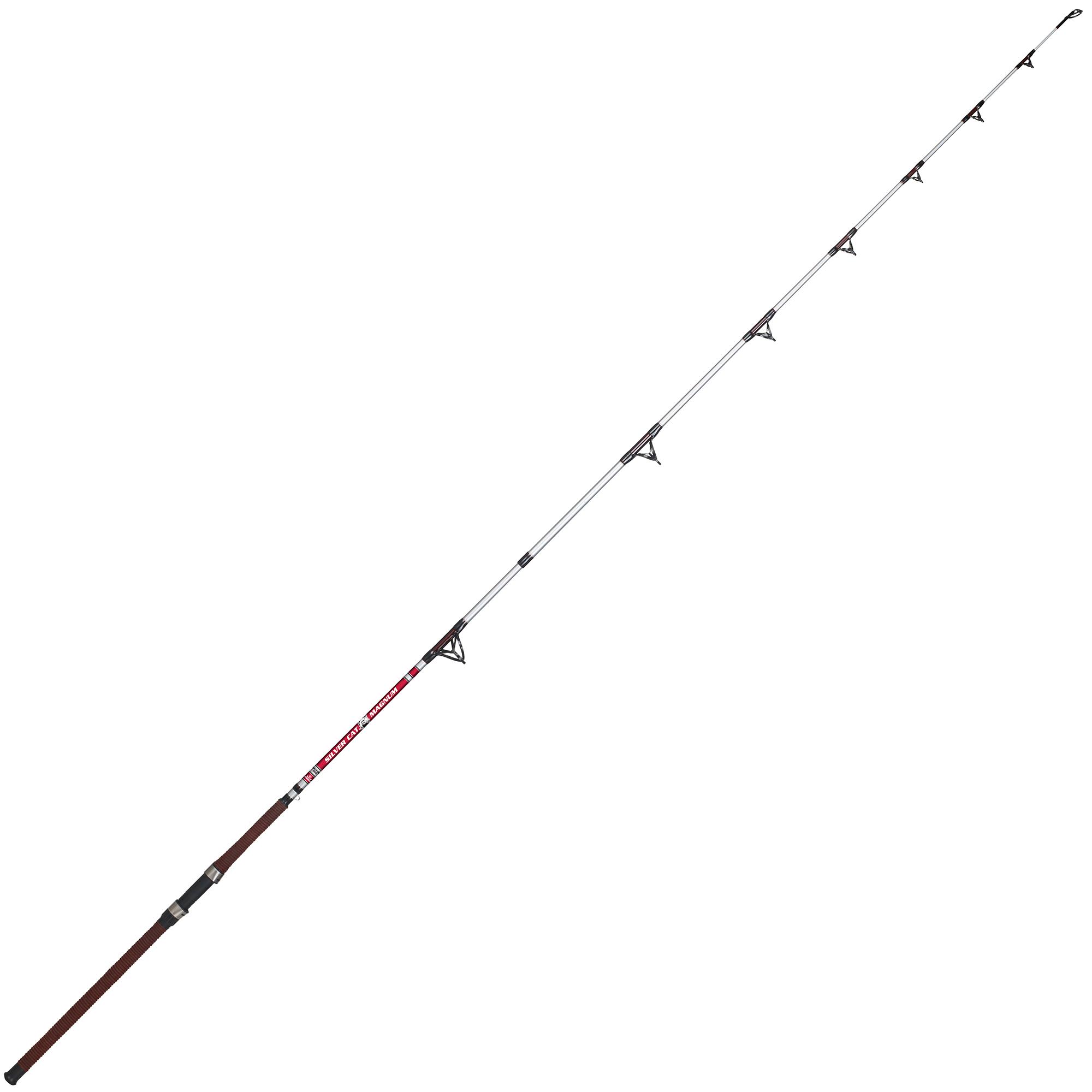 B'n'M Silver Cat Magnum Catfish Spinning Rod