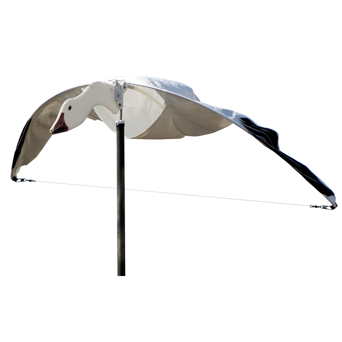 Heavy Hauler Cupped and Committed Snow Goose Flyer Decoy, 3-Pack