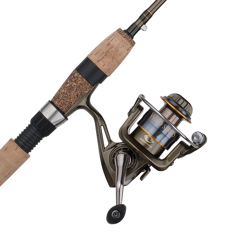 Shakespeare Wild Series Panfish Spinning Combo, 6'0″, Light