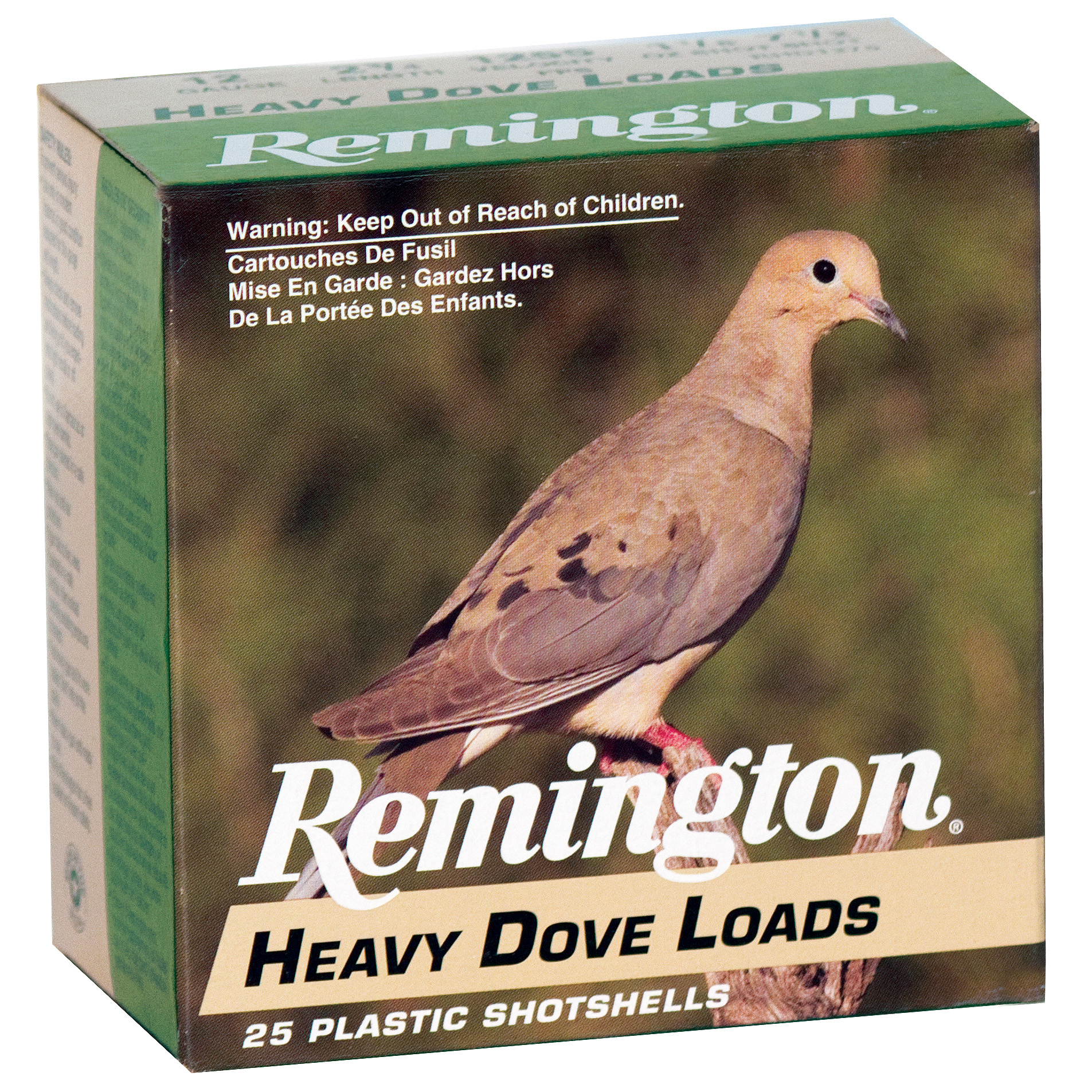 Remington Heavy Dove Ammo, 12-ga, 2-3/4″, 1-1/8 oz.