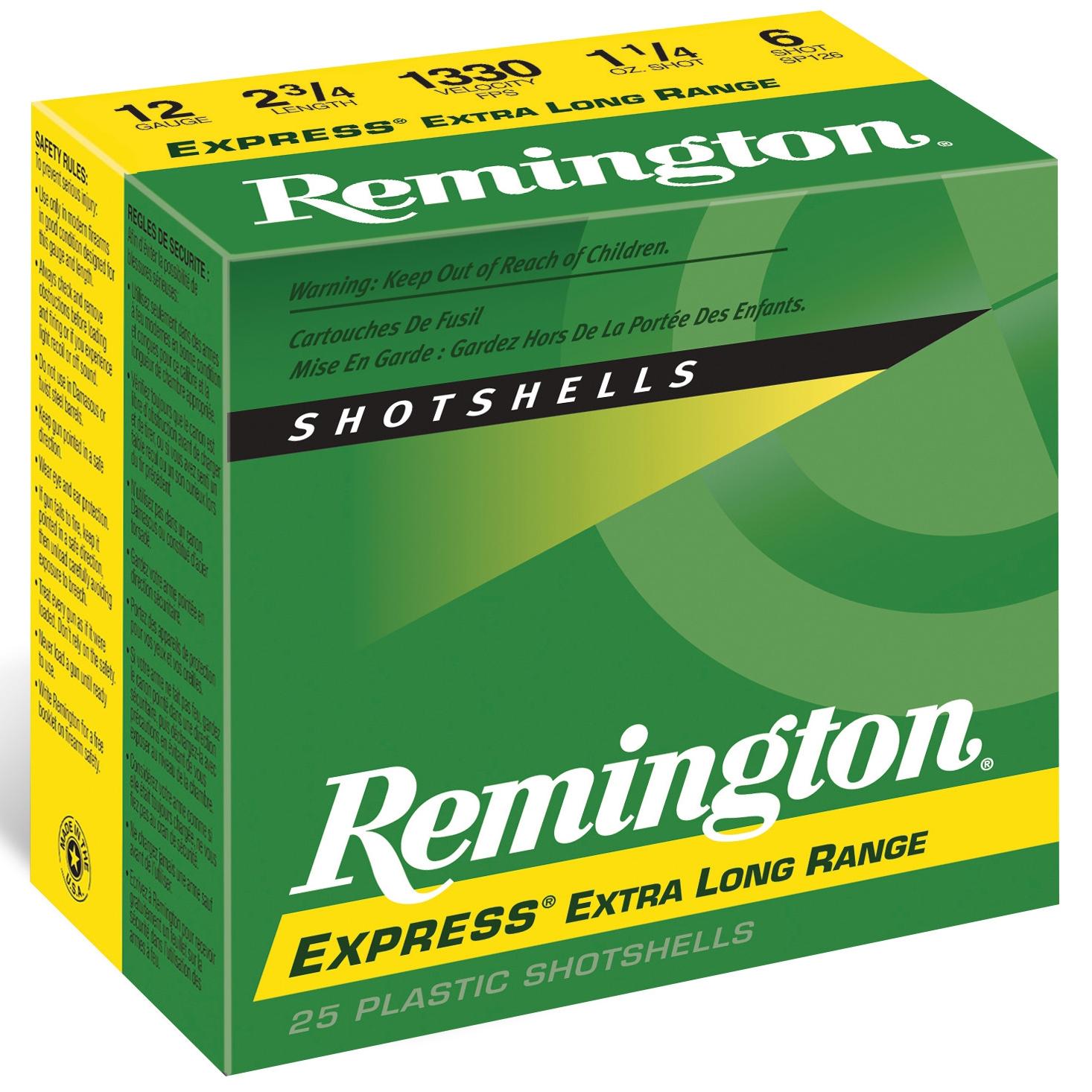 Remington Express Long Range Shotshells, 28 Gauge, 2-3/4″, 3/4 oz, #6