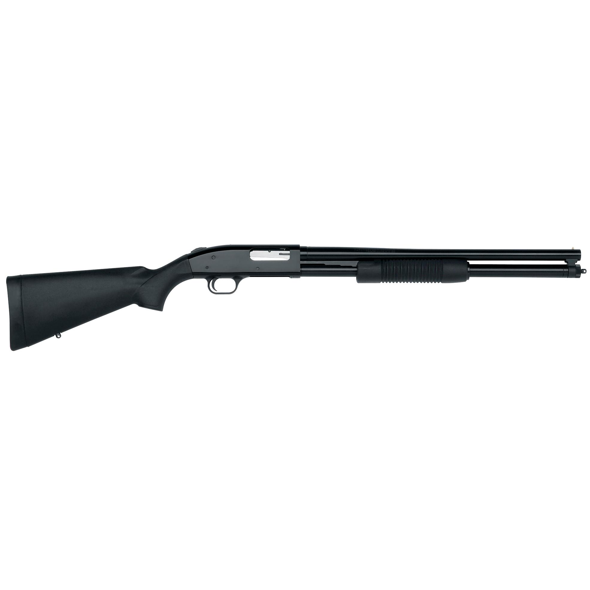 Mossberg 500 Tactical 8-Shot Shotgun, Blued