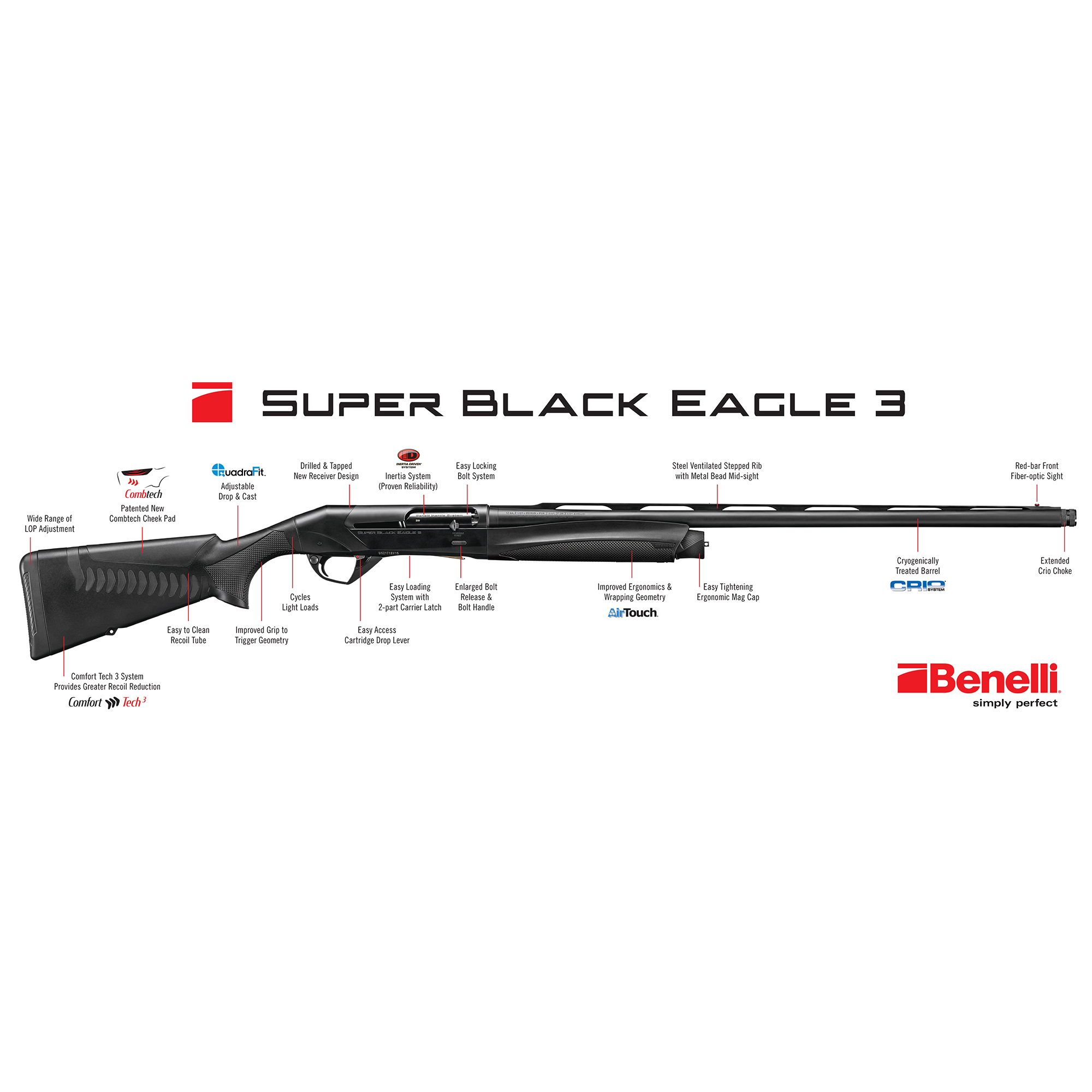 Benelli Super Black Eagle 3 Shotgun thumbnail