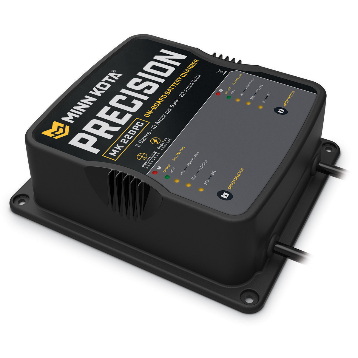 Minn Kota On-Board Precision Charger - 2 Banks, 10 Amps