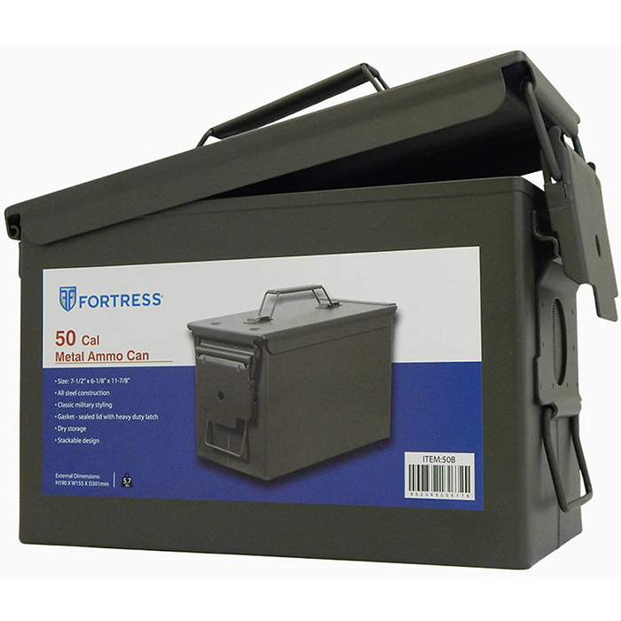 Fortress 50-Caliber Steel Ammo Can thumbnail