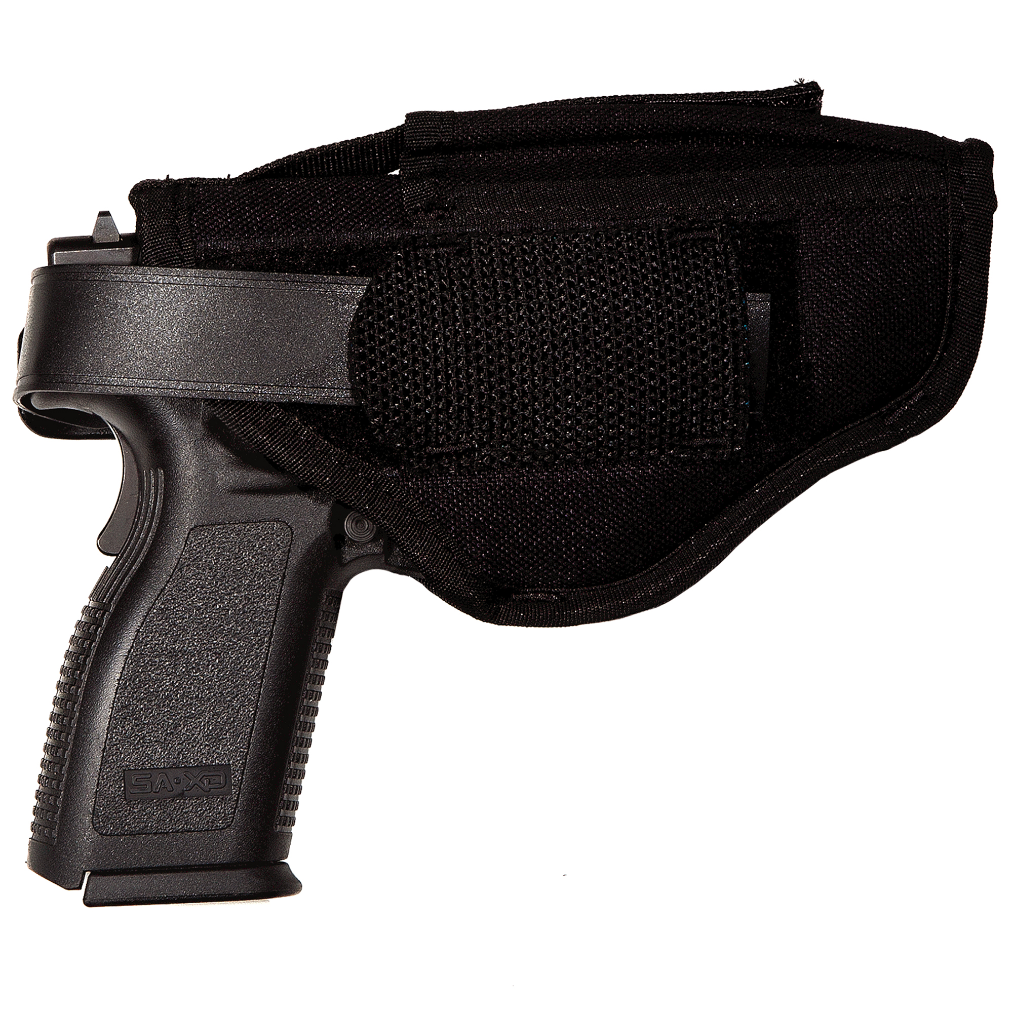 Uncle Mike's Sidekick Ambidextrous Hip Holster, 3-3/4″ – 4-1/2″, Large Autos