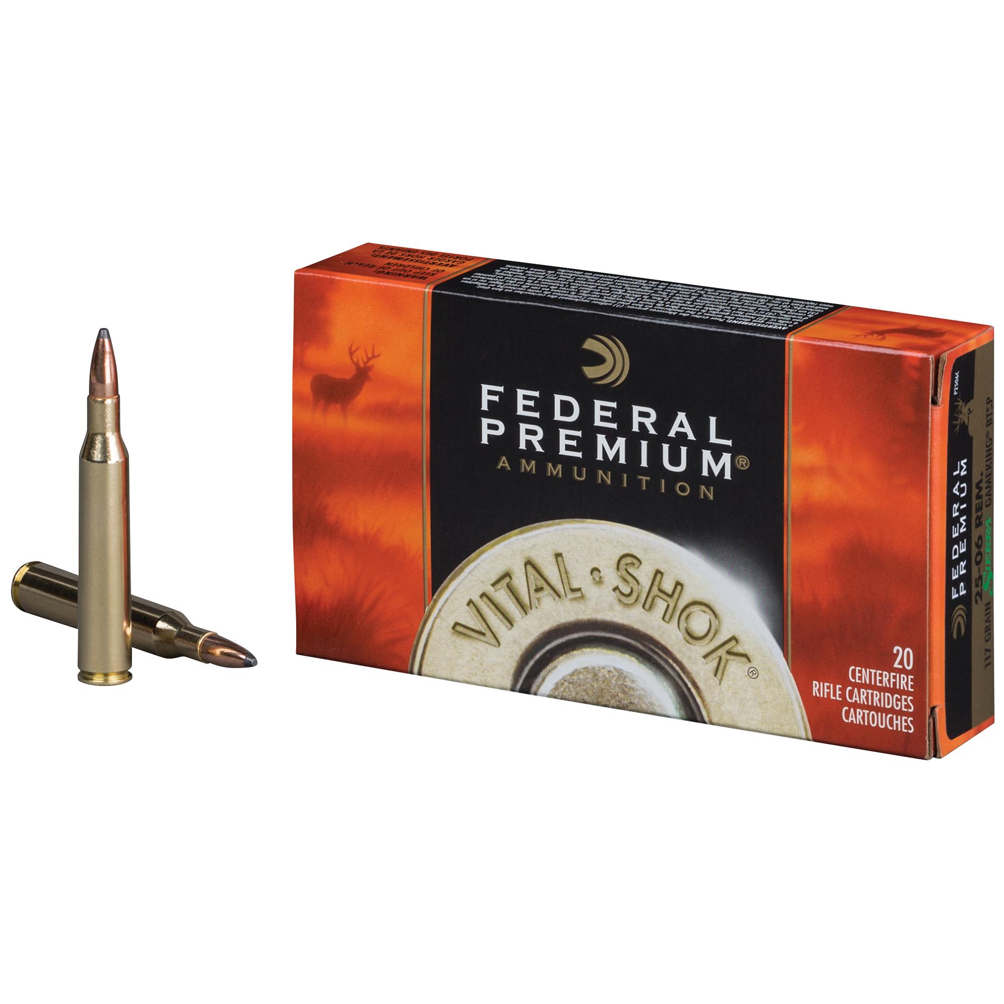 Federal Premium Vital-Shok Sierra GameKing Rifle Ammo, .308 Win, 165-gr.
