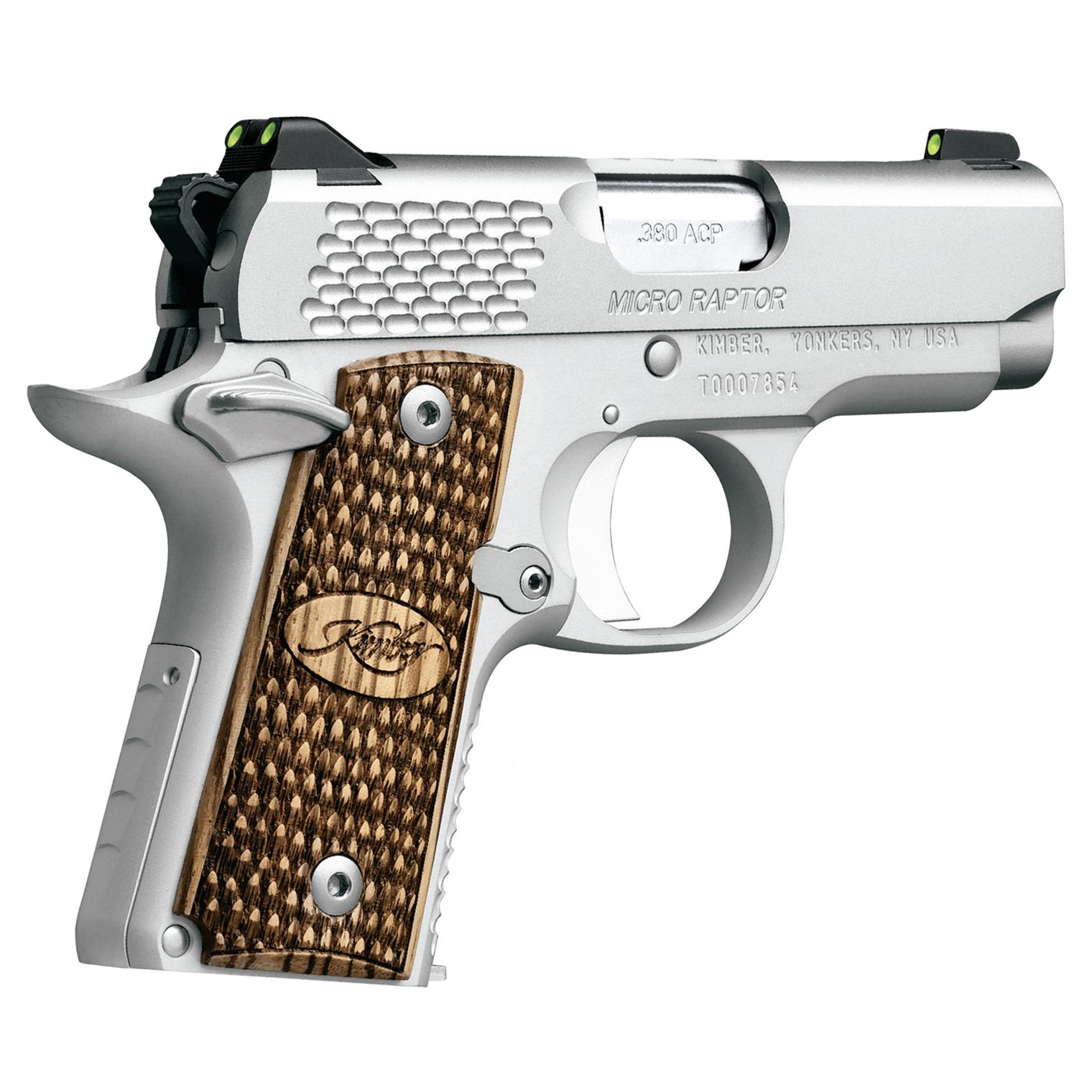 Kimber Micro 9 Stainless Raptor Handgun