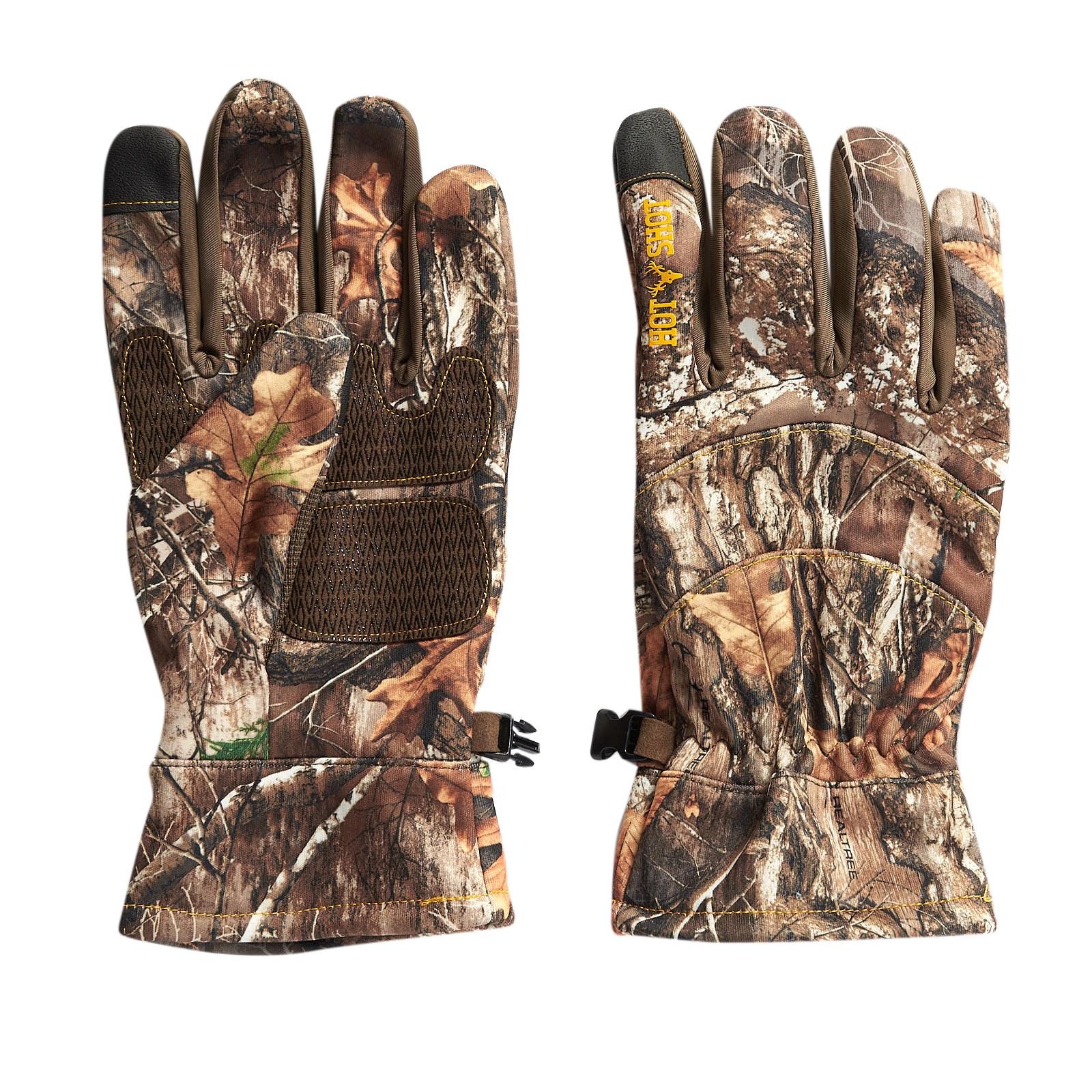 Hot Shot Men's Swiftstrike Softshell Fleece Touch Glove