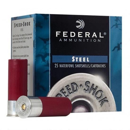 Federal Premium Speed-Shok Steel Waterfowl Loads, 20-ga, 3/4-oz, #4
