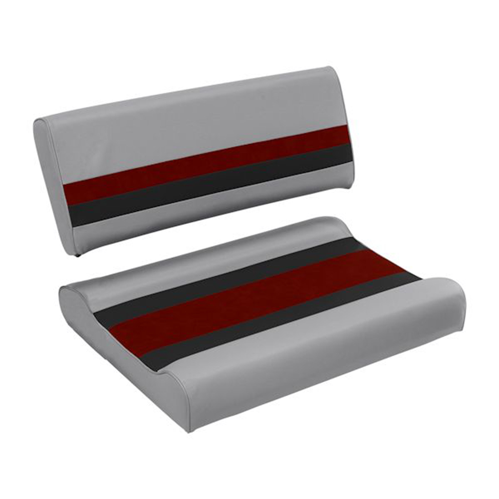 Toonmate Deluxe Flip Flop Seat - TOP ONLY - Gray/Red/Charcoal