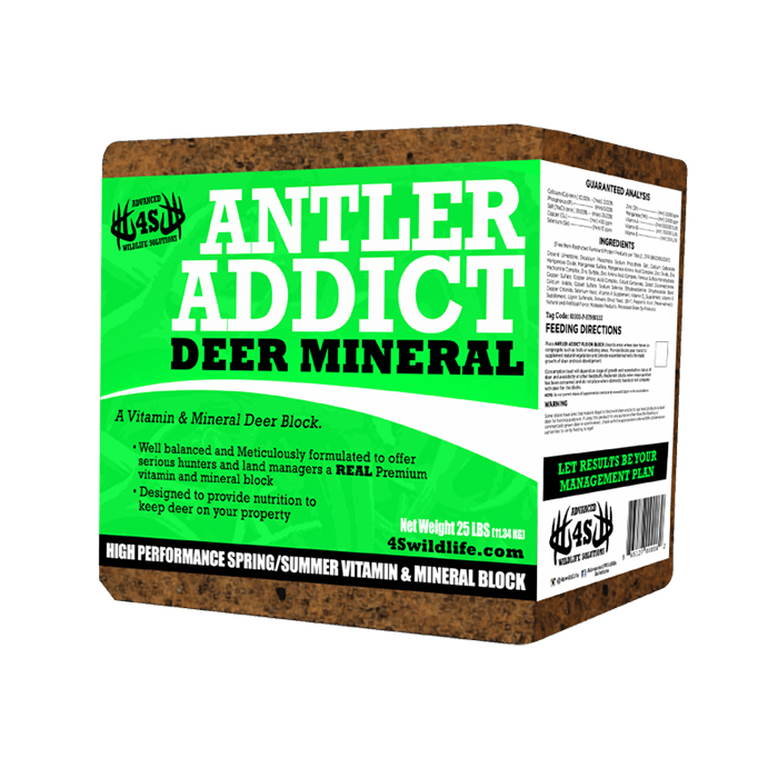 4S Antler Addict Deer Mineral Block thumbnail