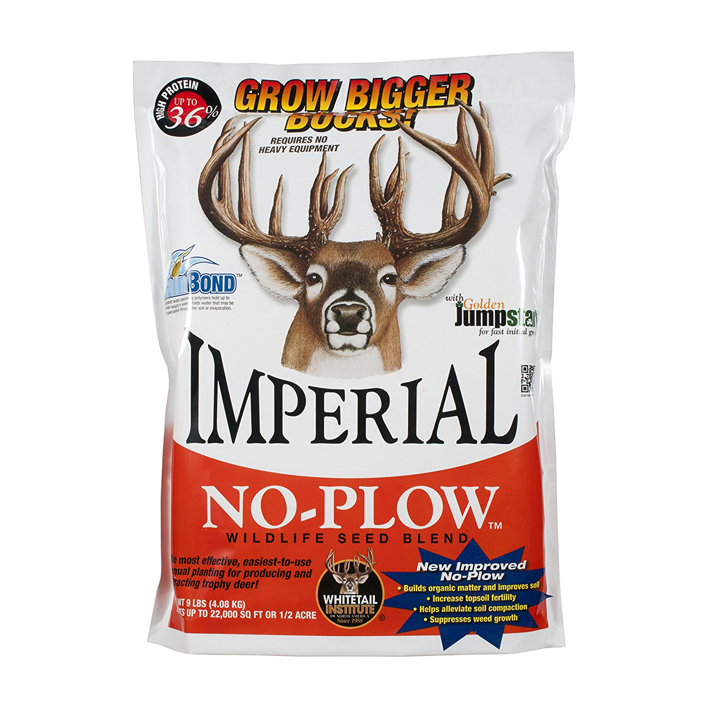 Whitetail Institute Imperial No-Plow Food Plot Seed Blend, 5-lb.
