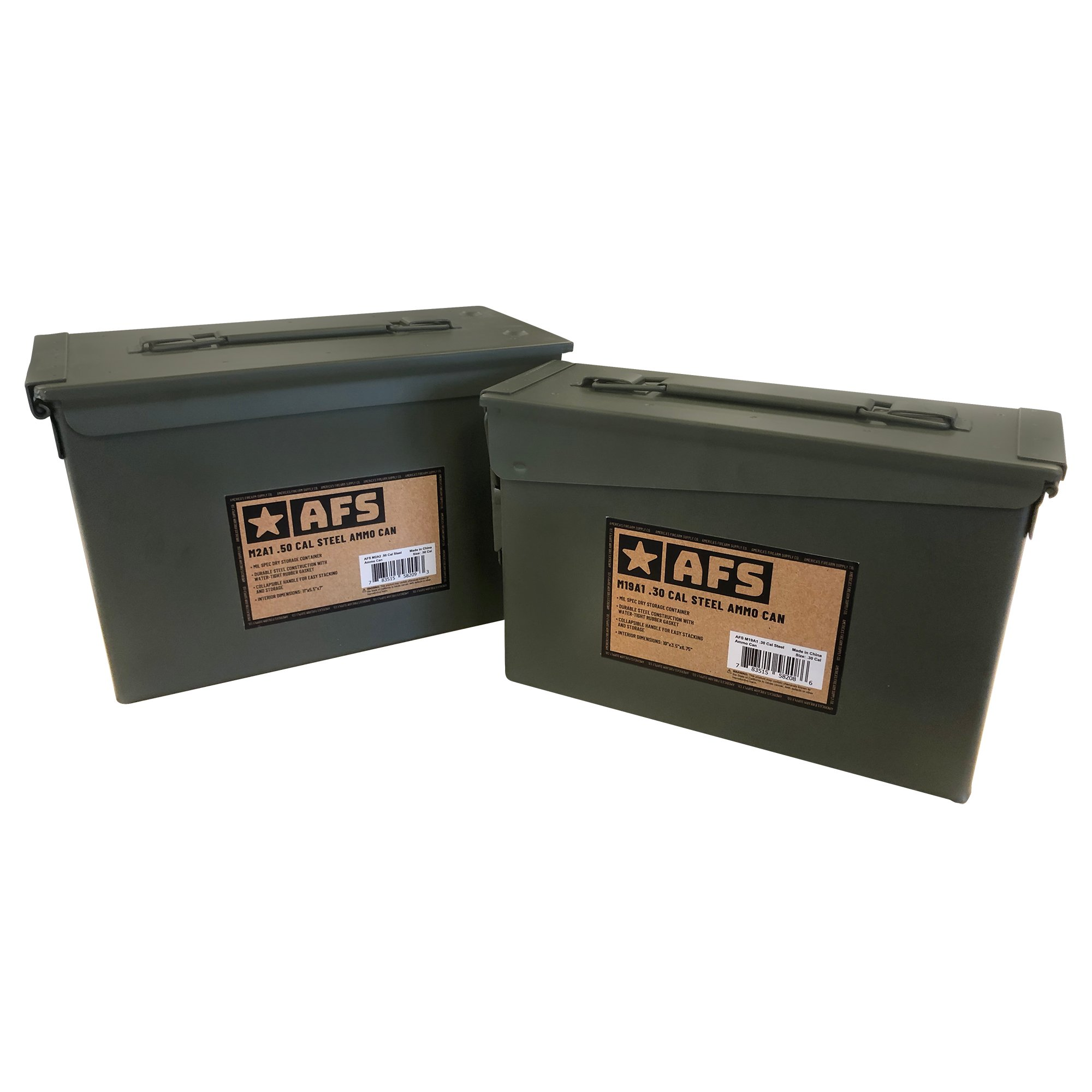 AFS M19A1 Steel Ammo Can