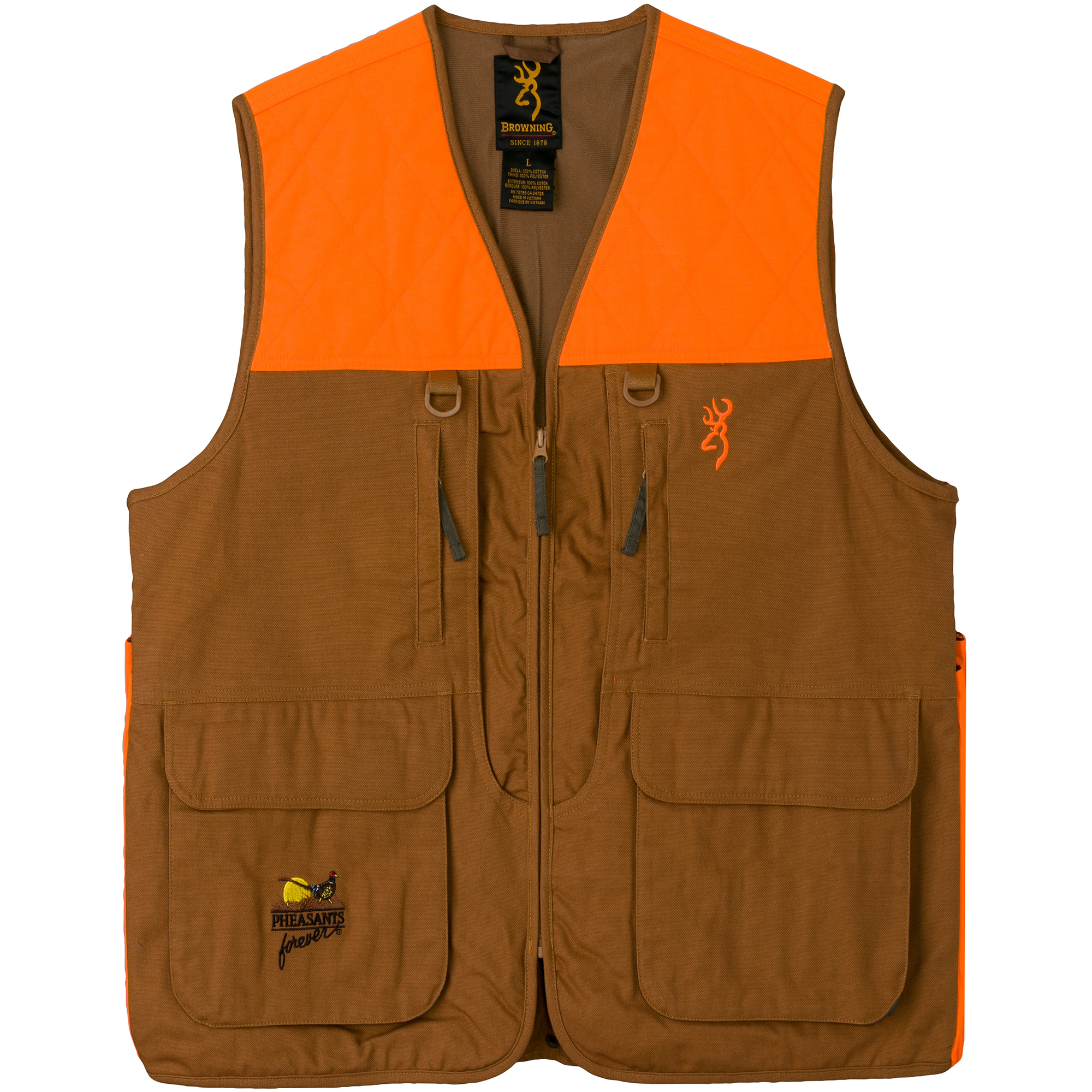 Browning Men's Pheasants Forever Upland Vest thumbnail