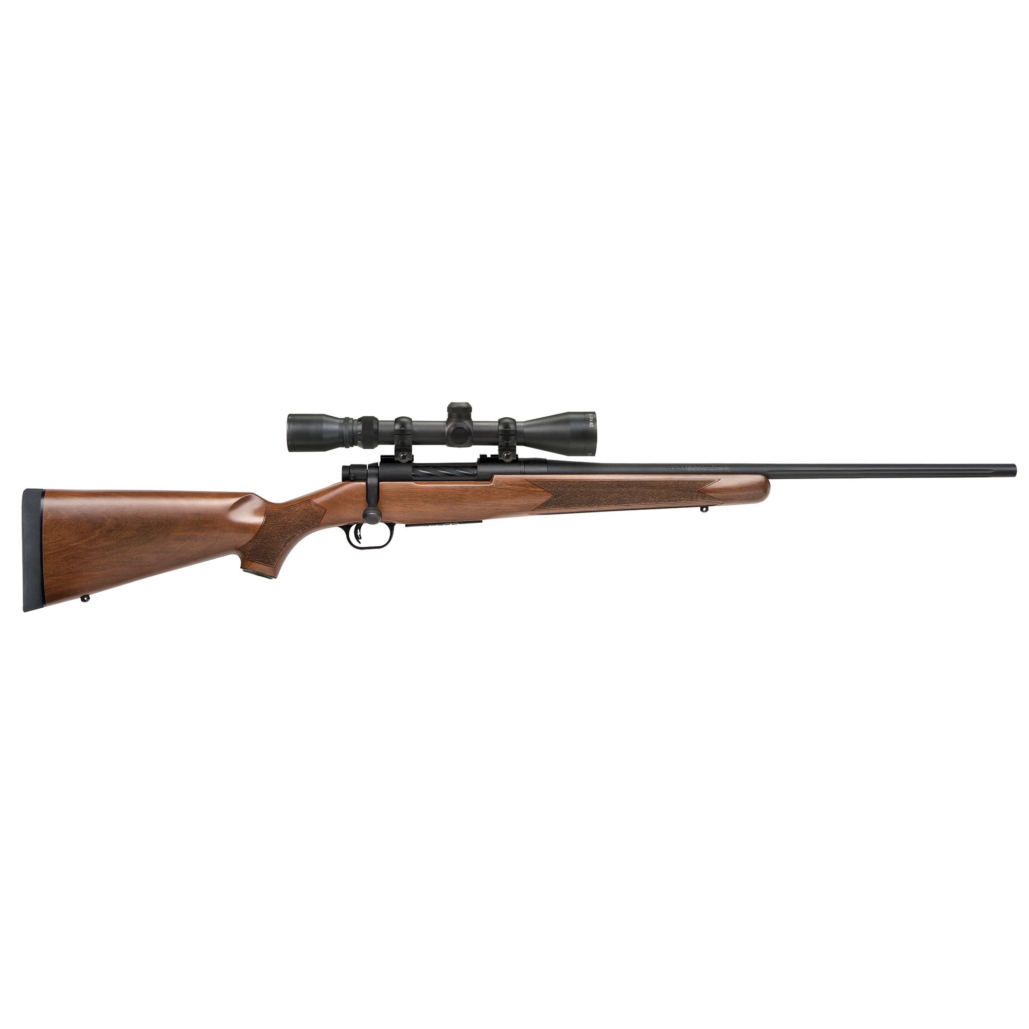 Mossberg Patriot Walnut Centerfire Rifle Package, .22-250 Rem., Walnut