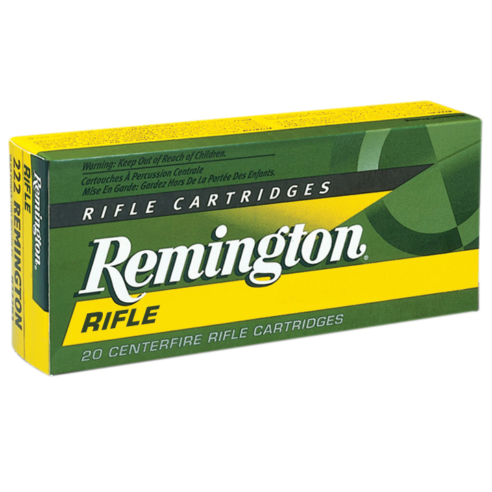 Remington High Performance Rifle Ammunition, .220 Swift, 50-gr, PSP, 20 Rounds
