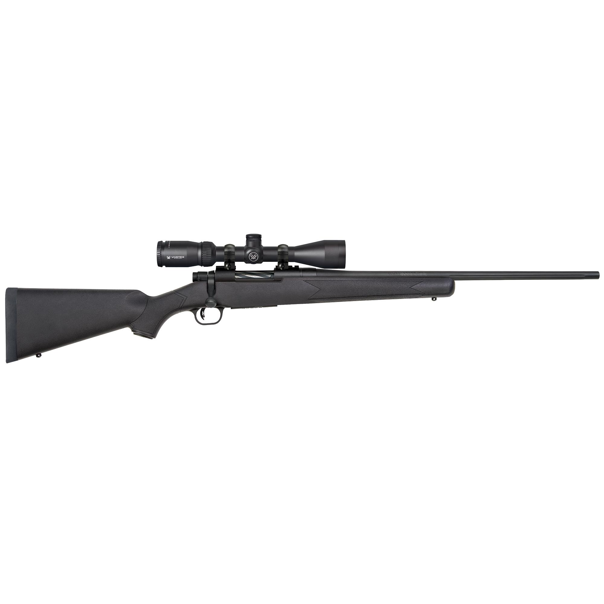 Mossberg Patriot Vortex Centerfire Rifle Package, .243 Win, Black