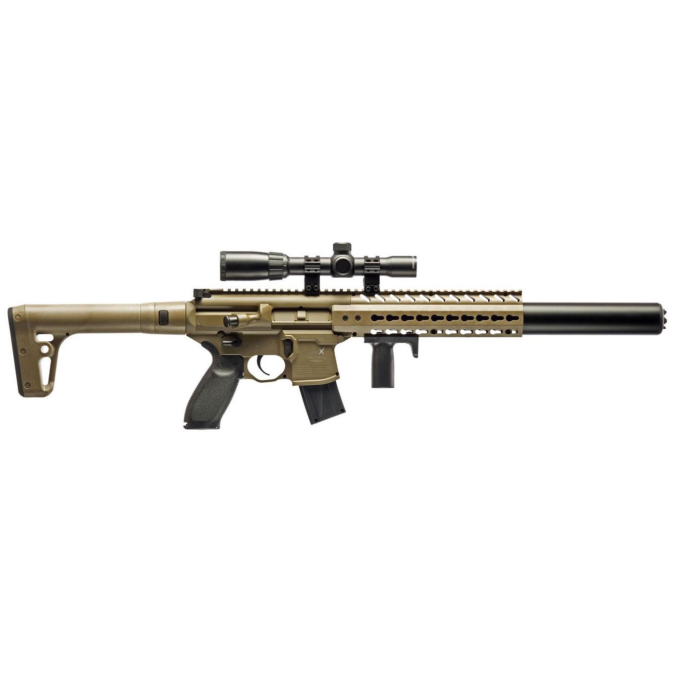 SIG Sauer MCX ASP FDE Air Rifle Package
