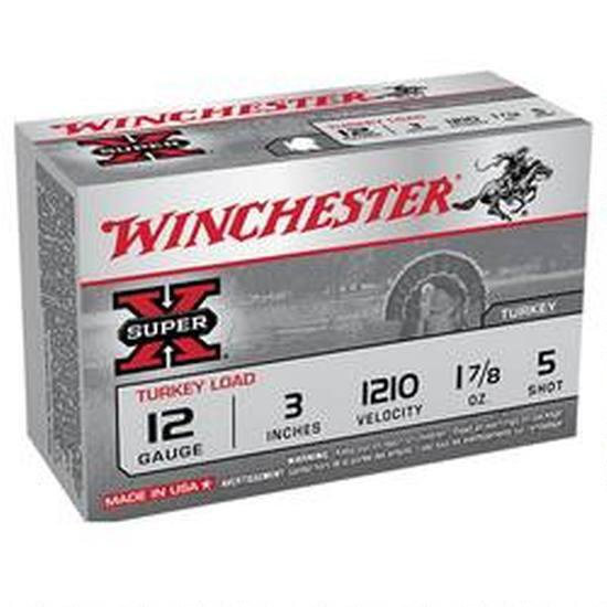 Winchester Super-X Turkey Loads, 12-ga, 3″, 1-7/8 oz.