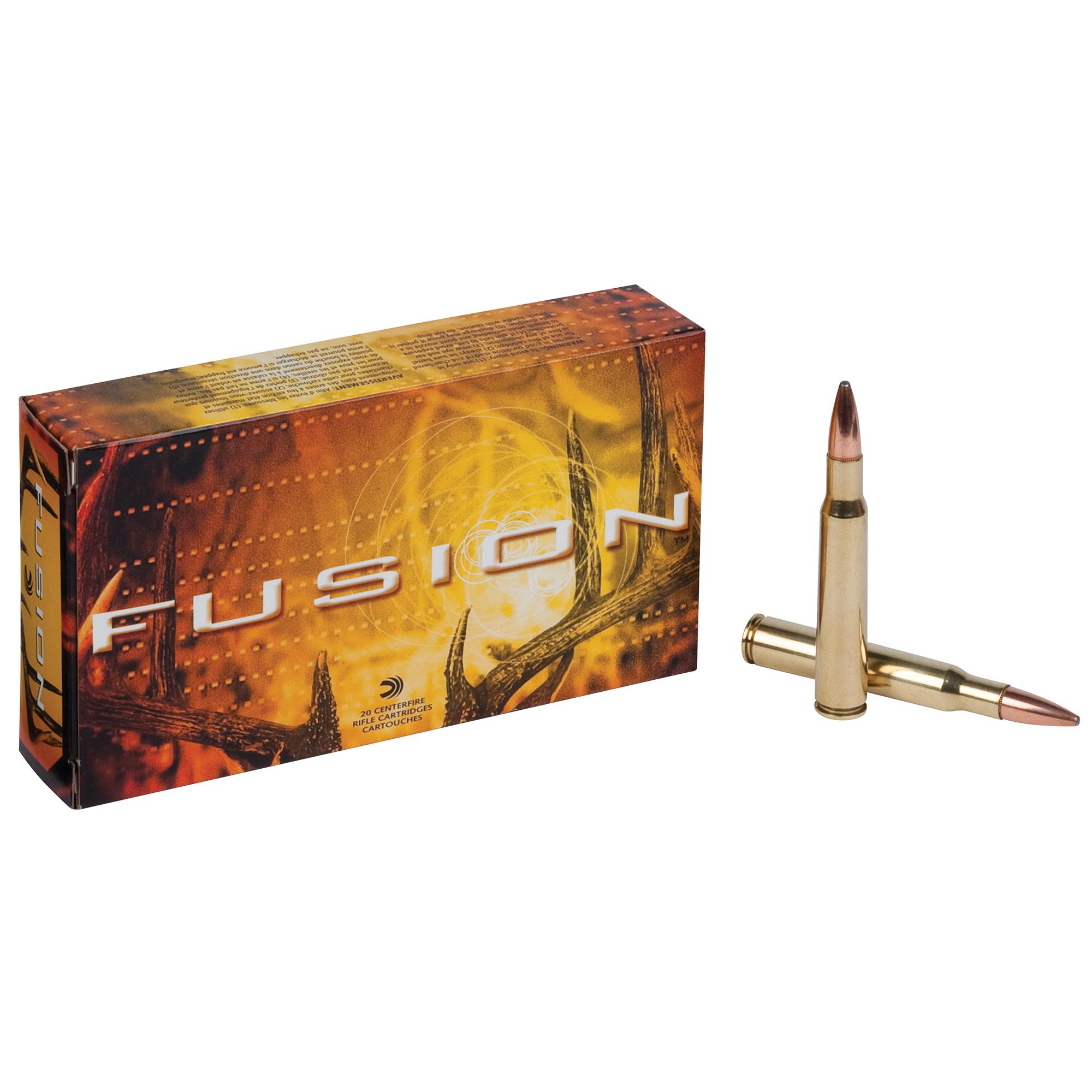 Fusion Rifle Ammunition, .30-06 Spring, 165-gr, BTSP