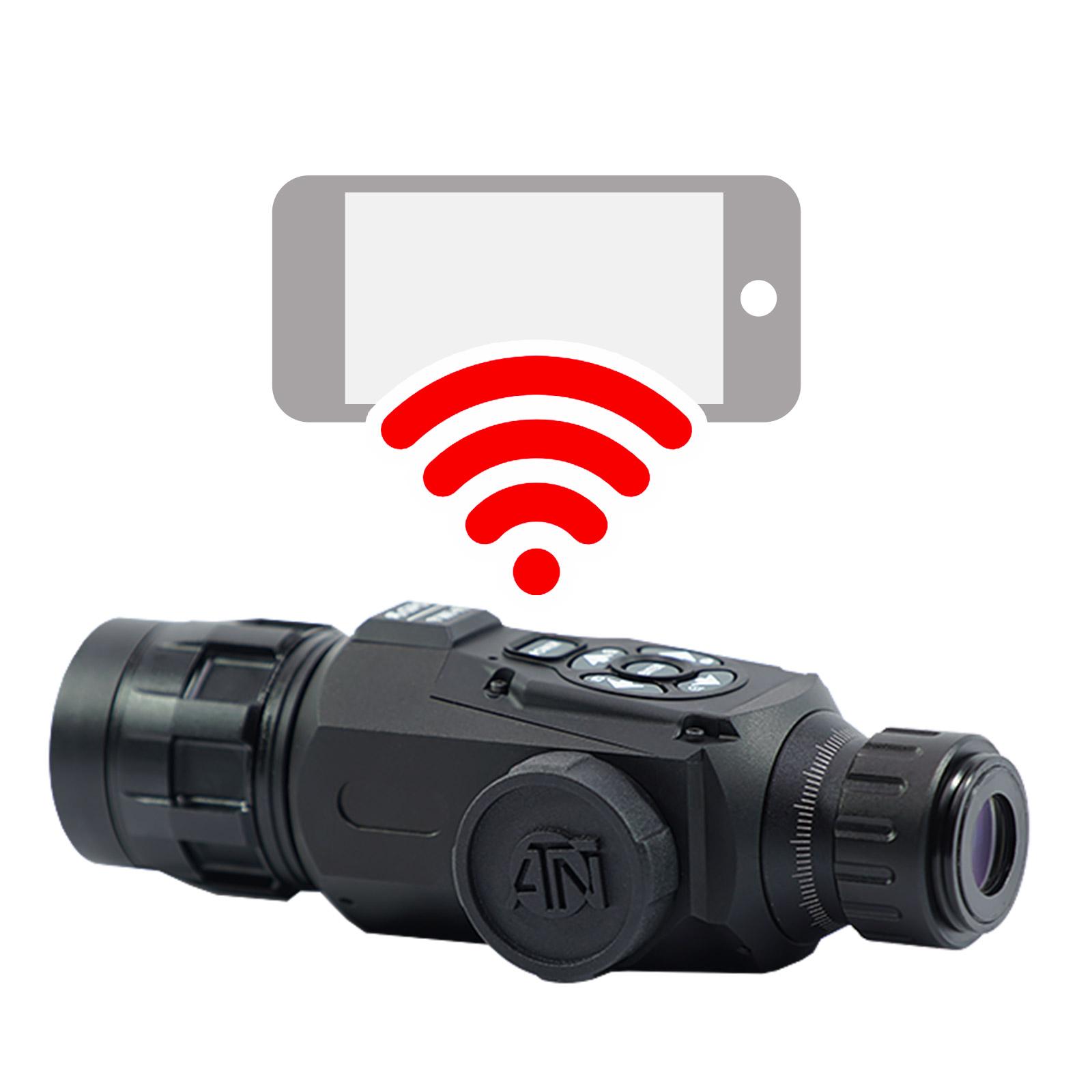 ATN OTS-HD Monocular, 2.5-25×50