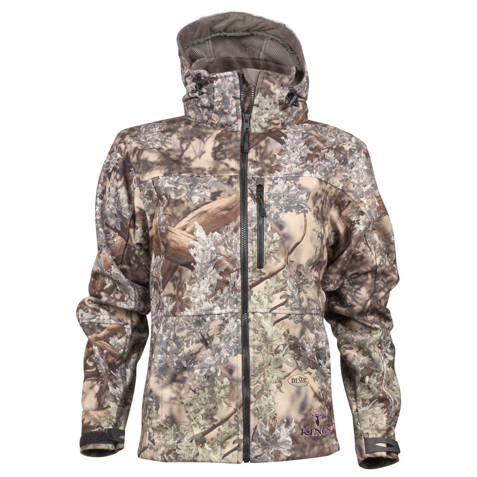 King's Camo Women's Hunter Series Wind-Defender Fleece Jacket