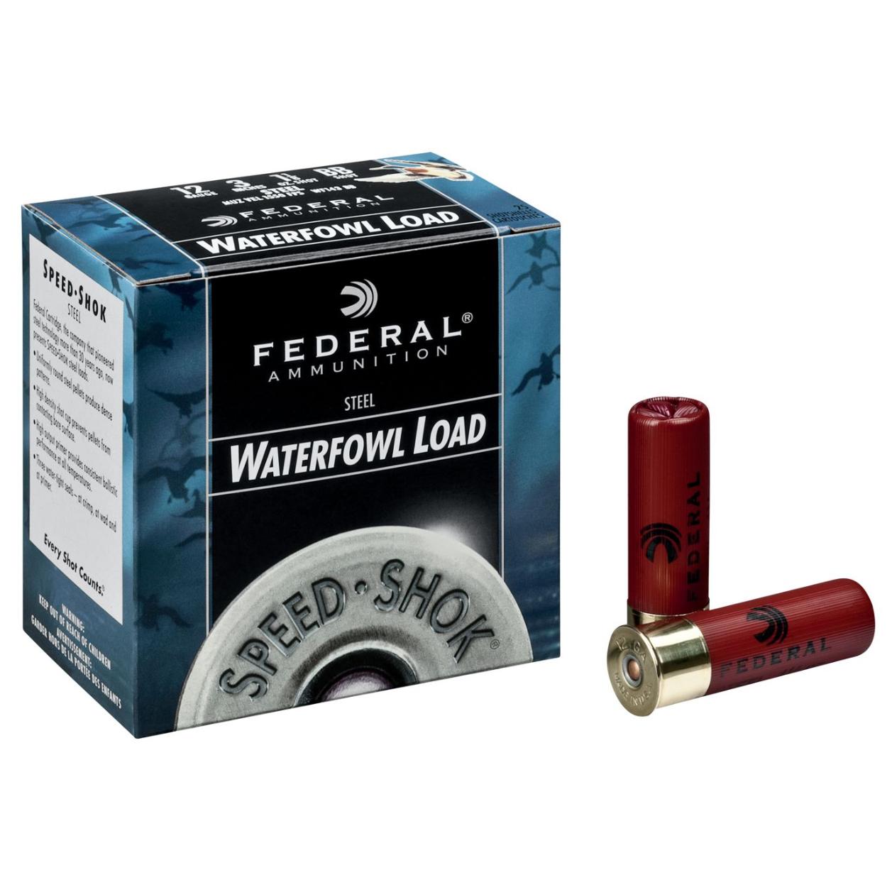Federal Premium Speed-Shok Waterfowl Ammo, 10-ga, 3-1/2″, 1-1/2 oz, #2