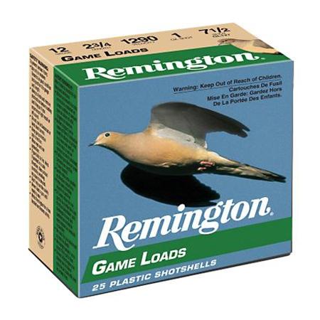 "Remington Game Load, 12-ga., 2-3/4"", 1-oz., #6"