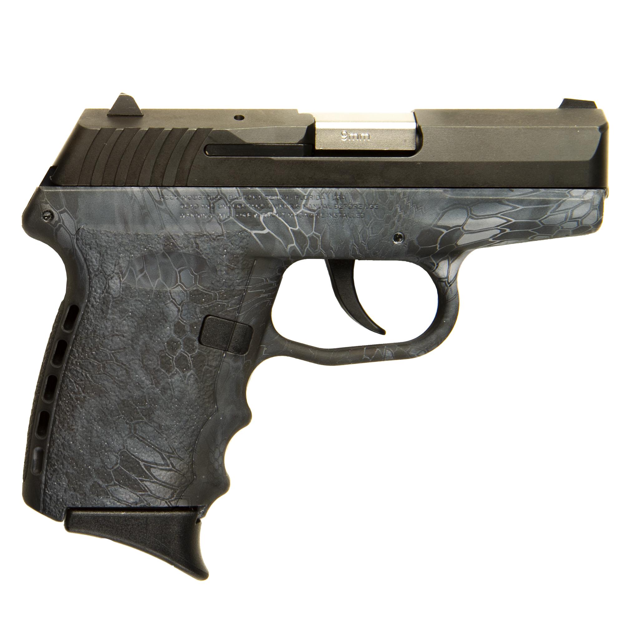 Used SCCY CPX-2 Handgun, 9mm, Kryptek Typhon Grip