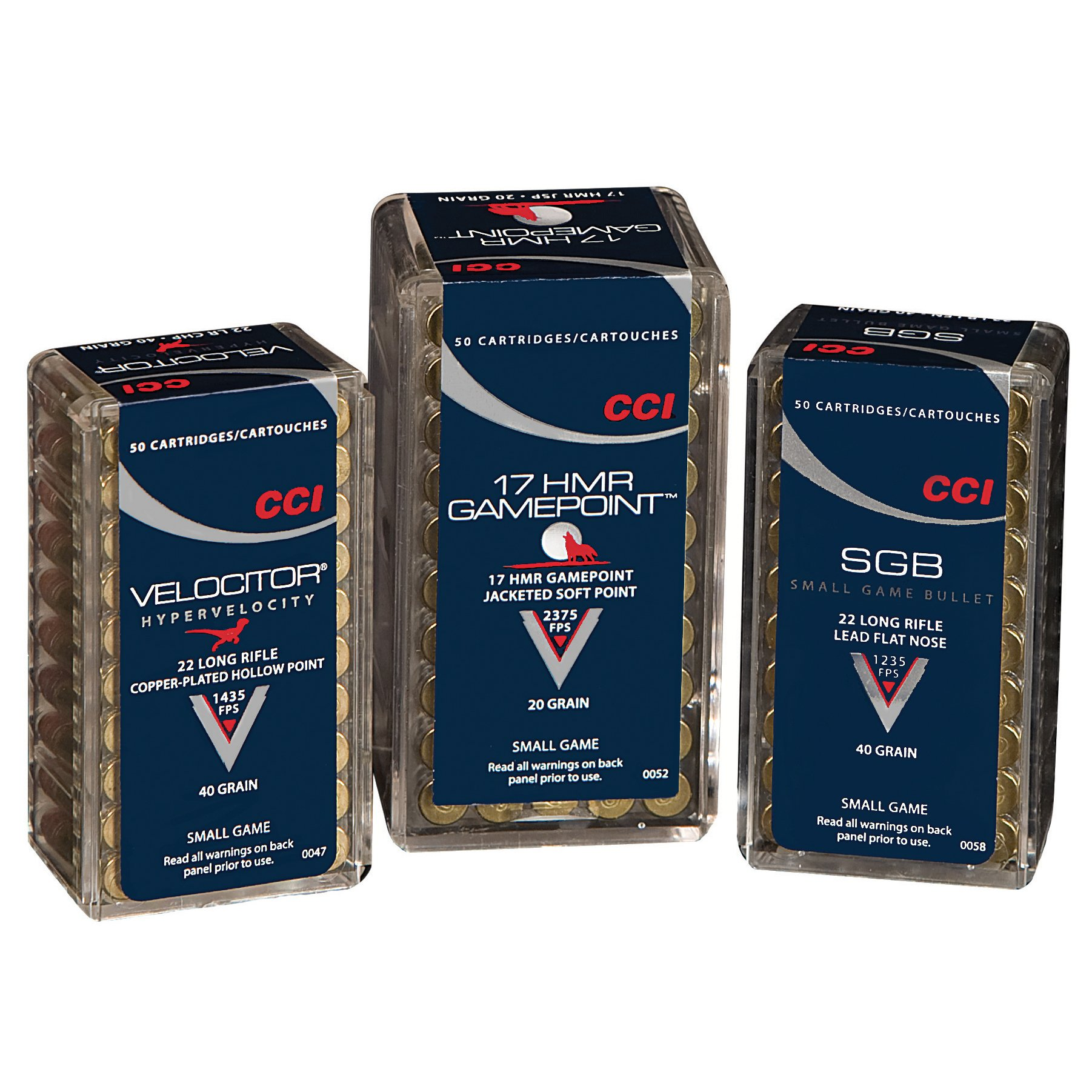 CCI Velociter Small Game Ammunition, .22 LR, 40-gr, CPHP