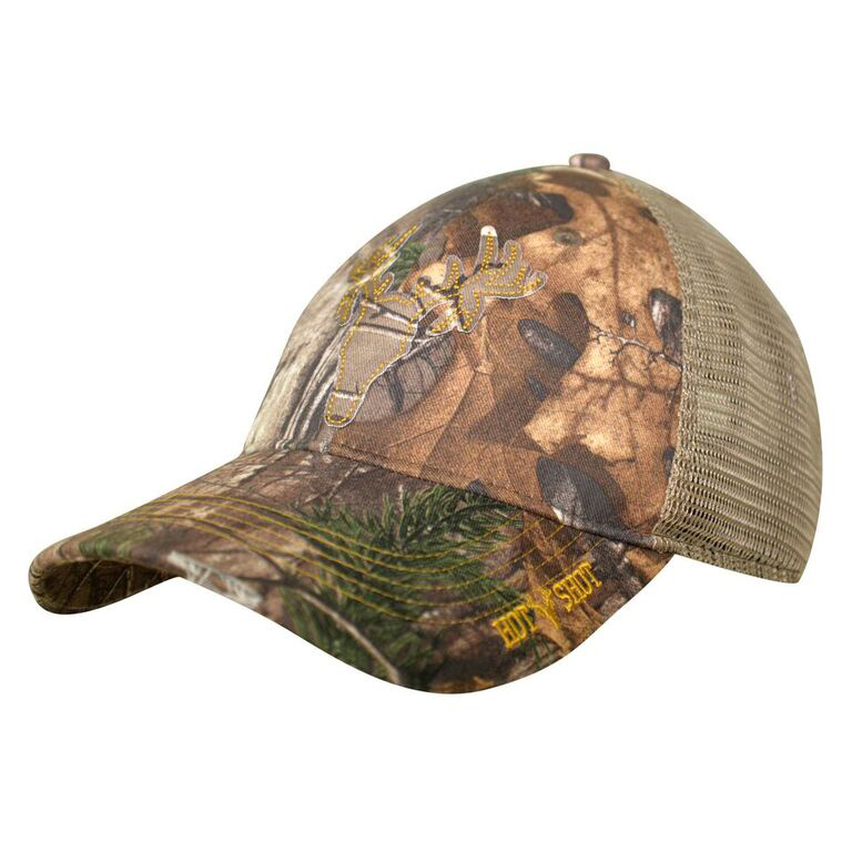 HOT SHOT Men's Adjustable Camo Mesh-Back Cap