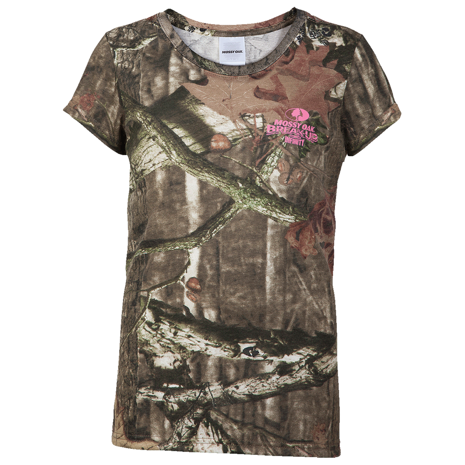 Mossy Oak Women's Camo Short-Sleeve Tee