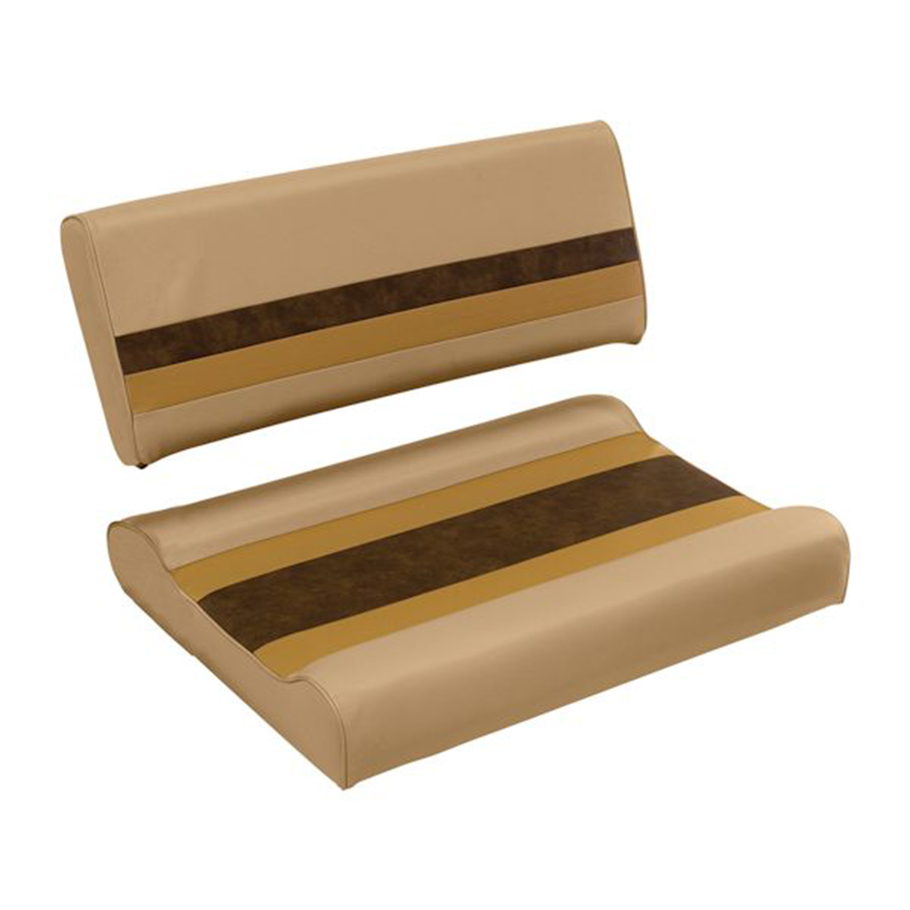 Toonmate Deluxe Flip Flop Seat - TOP ONLY - Sand/Chestnut/Gold